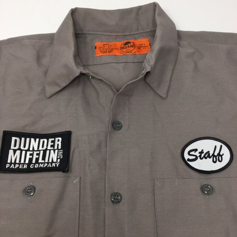 Shirt Dunder ShowDepop Staff From Tv Mifflin The Warehouse PkiwXTOZu