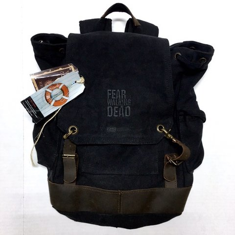 246fff207bd5 FEAR THE WALKING DEAD Cast   Crew rare Backpack. Brand new a - Depop