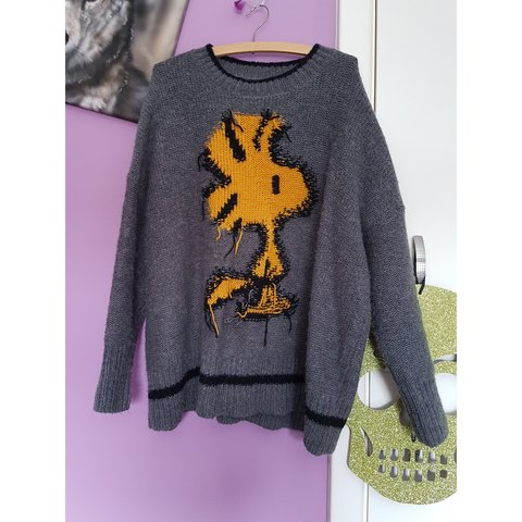 4c212d8e @victoria_emily. 4 months ago. Hartford, Cheshire West and Chester, United  Kingdom. Size small Zara Peanuts Woodstock jumper. Bought for £50 ...