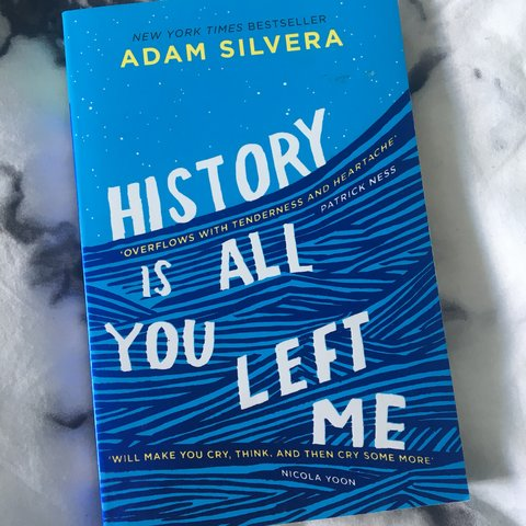 Selling My Copy Of History Is All You Left Me By Adam Uk You Depop