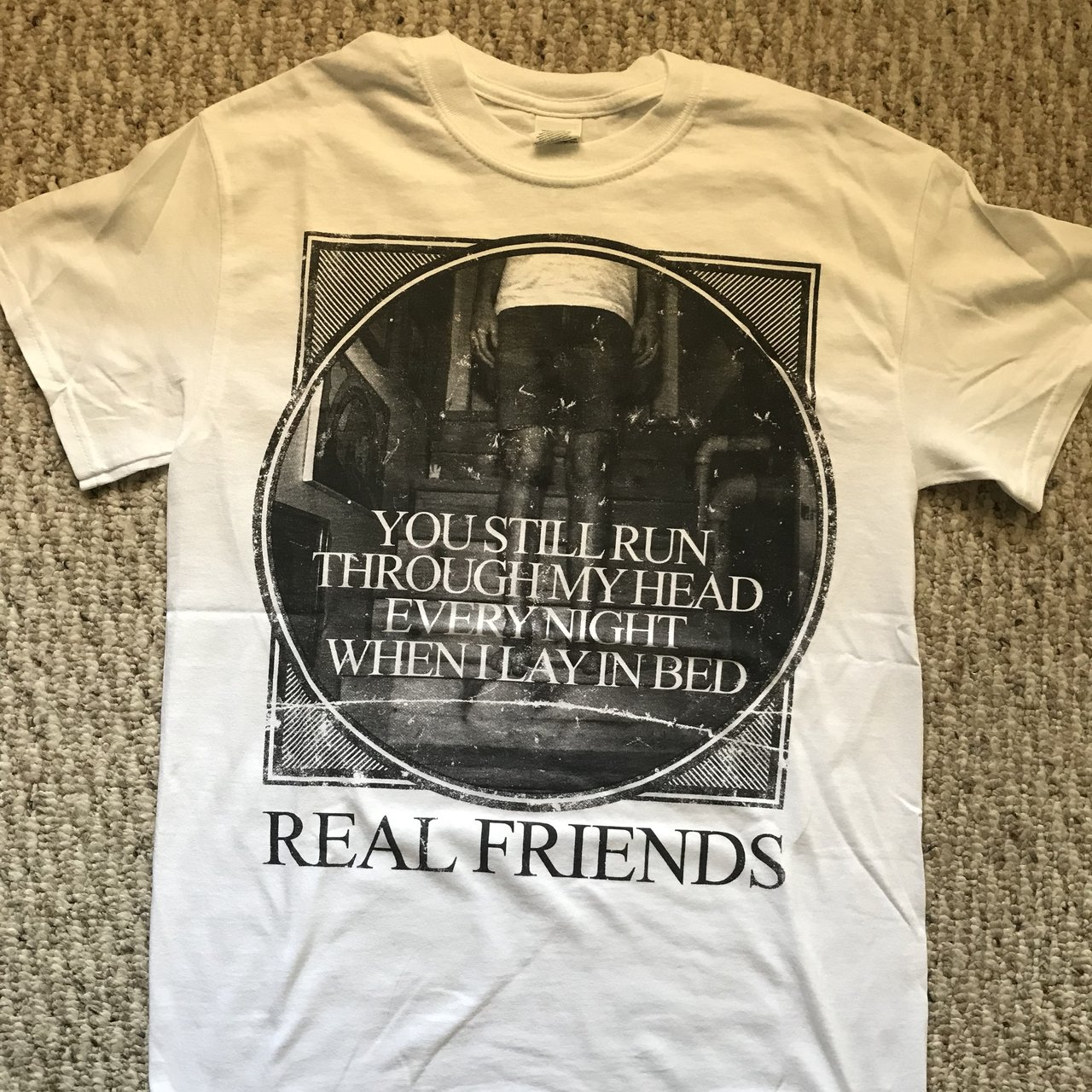 426ec896bdee2e Real Friends shirt Size small Never worn Printed