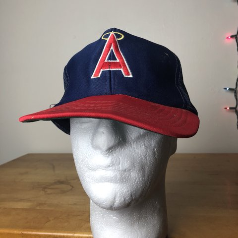 01700786 @asburyparkvintage. 5 months ago. Asbury Park, United States. Vintage Los  Angeles Angels (of Anaheim) snap back hat.