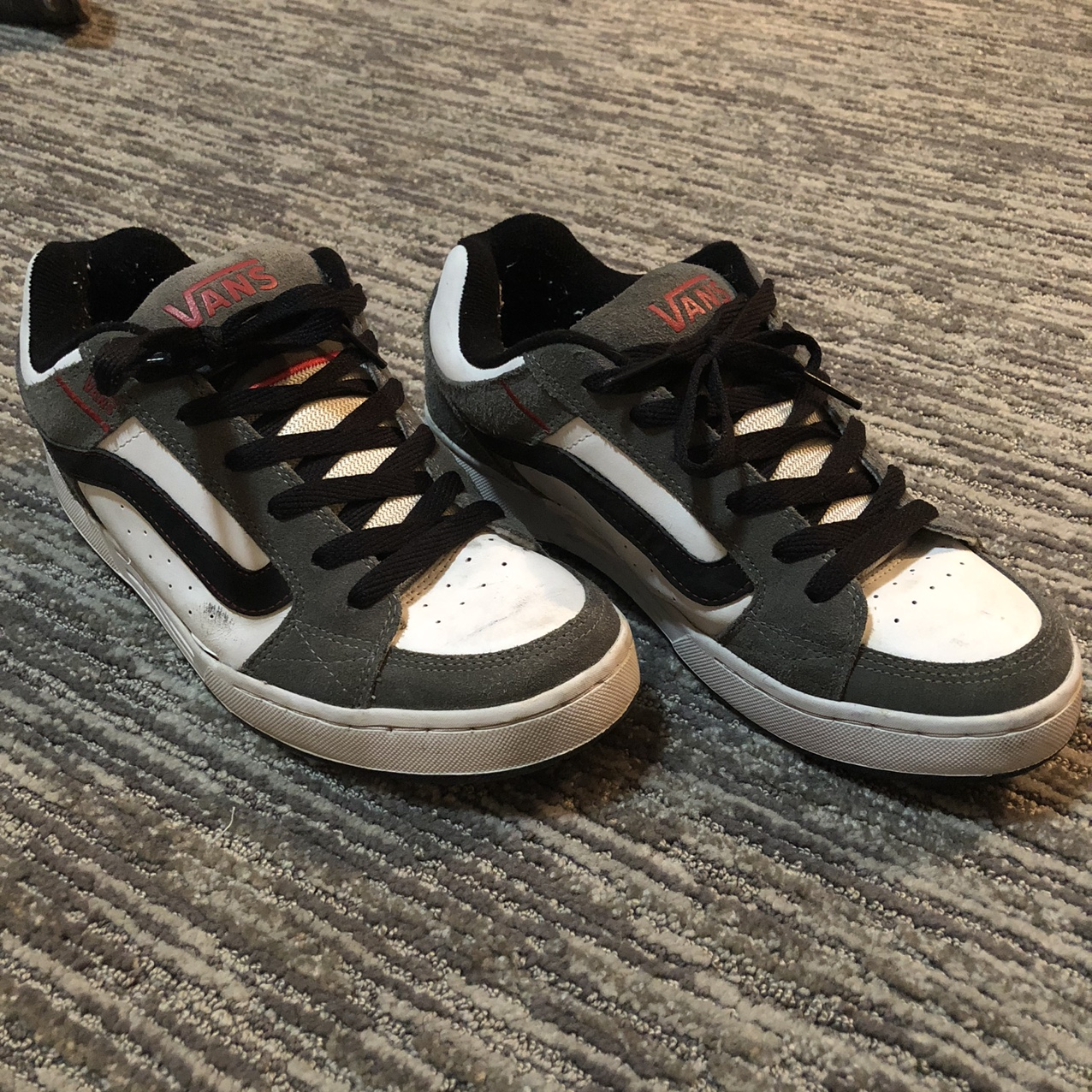 vans skate shoes early 2000s chunky as