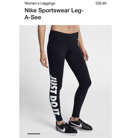quality design 74d3e 59487  athenaaandreas. 8 months ago. Inverness, United Kingdom. Nike Just Do It  leggings ...