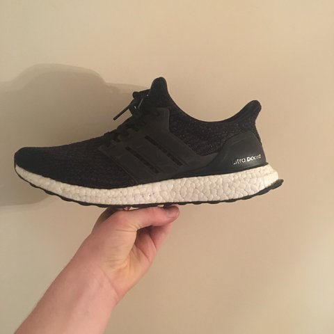 a32a4d9608dd9 Adidas Ultra Boost 3.0 Core Black UK Size 9 9 10 OG to and - Depop