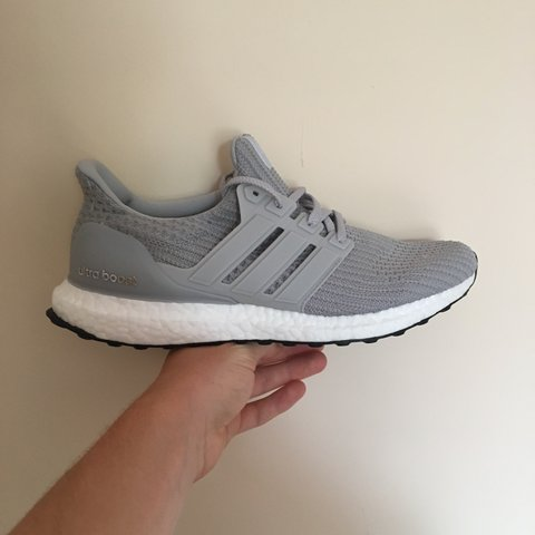 45eb05f4bd894 BRAND NEW WITH TAGS Adidas Ultra Boost 4.0 Grey UK Size to - Depop
