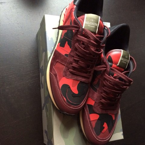 d202369c1f511 @jasper87. 4 years ago. RED VALENTINO CAMO SNEAKERS FOR SALE!! Size 44 !