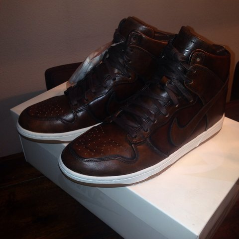 new style 254af d276e  jasper87. 4 years ago. Nike dunk high burnished leather ...