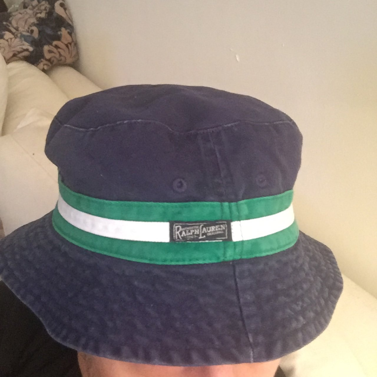 e16dff27f72 Reversible Polo Hat. One side.  14 · Vintage Polo Ralph Lauren ...