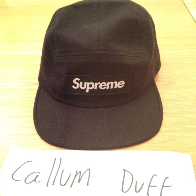 3458f40dd7c Supreme f w 2104 black desert camo camp cap hat. This is new - Depop