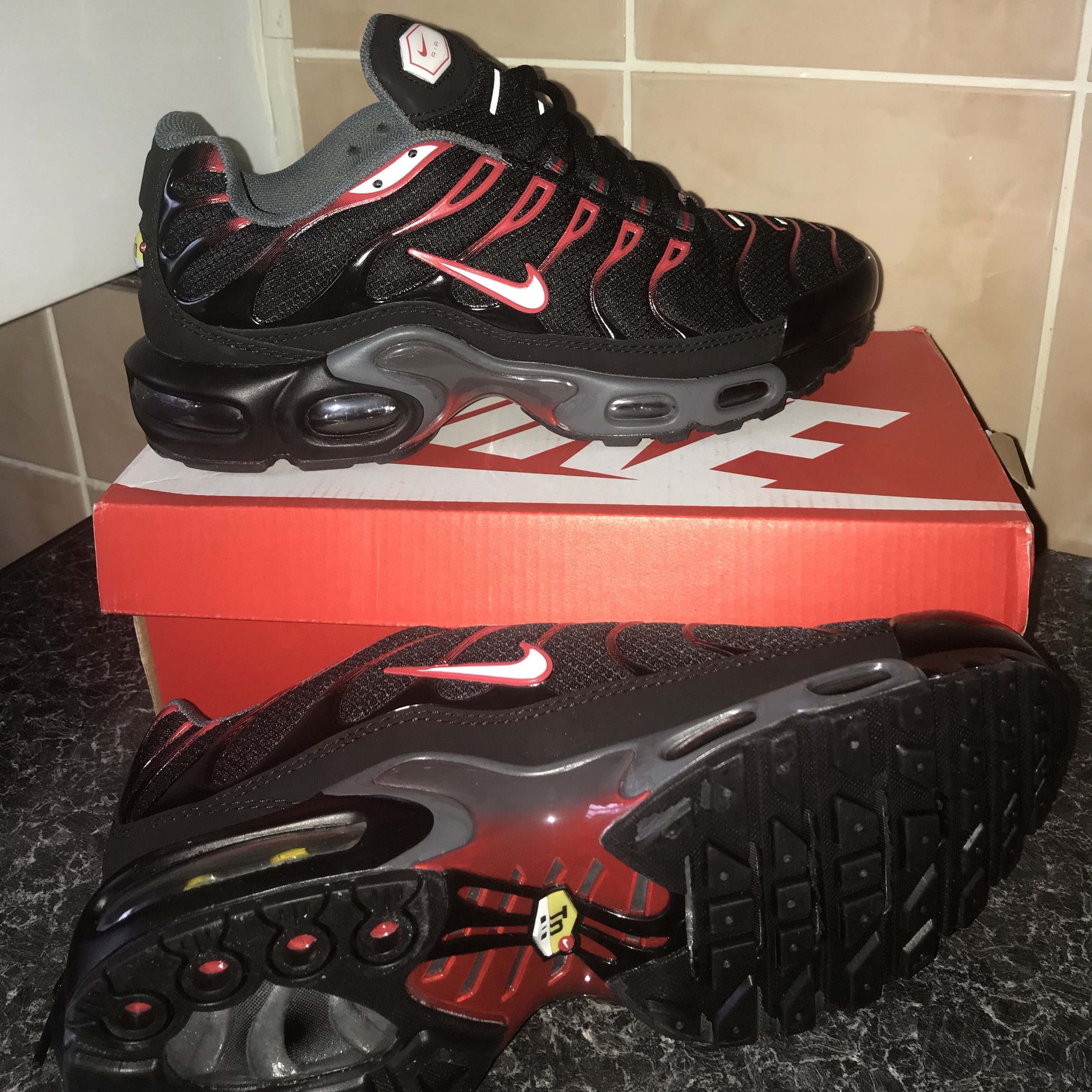 new styles 798f2 a3fee Nike air max plus (t.n's) excellent condition never... - Depop