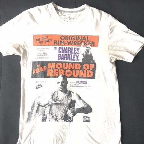 ce74ff44c @vintagegear1. 5 months ago. Columbus, United States. Very Rare Vintage  Charles Barkley Nike T Shirt