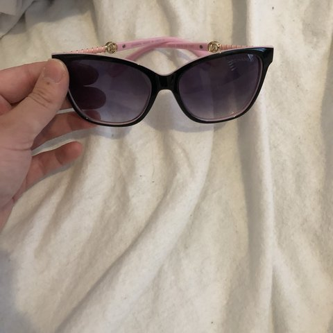 b5e69715e5 Chanel sunglasses Pink in colour Never used  holidays  cc - Depop