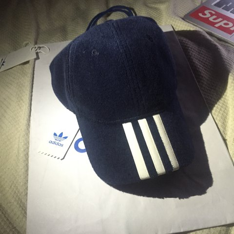 cd39f9232b603 Palace x adidas towel cap size M L worn once to try on still - Depop