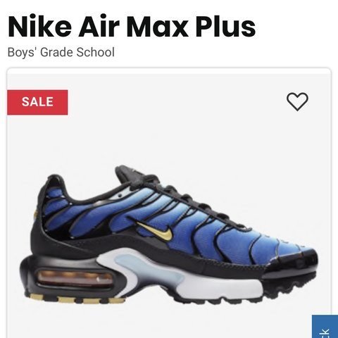 premium selection 579c6 202b9 💙💙BOYS YOUTH NIKE AIR MX PLUS! Used Size 7.5 Love these - Depop