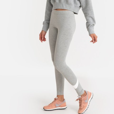 da645ff768d7e9 @igibson. 7 hours ago. Manchester, United Kingdom. Grey cotton Nike swoosh  leggings size M