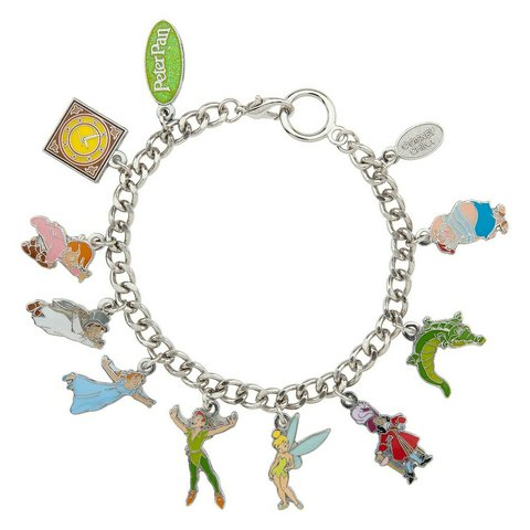 79213577a @creepyycrawler. last year. Queens, Queens County, United States. Disney  Peter Pan Charm bracelet from the Disney store ...