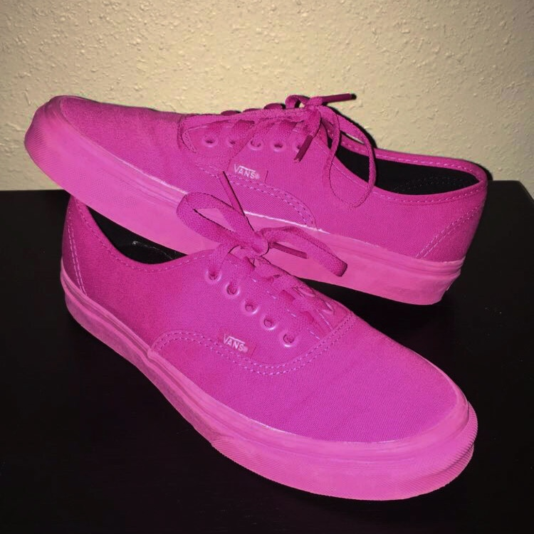 Purchase \u003e solid pink vans, Up to 66% OFF