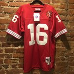 d10ed349 Roger Craig #33 1989 Mitchell and Ness throwback jersey San - Depop