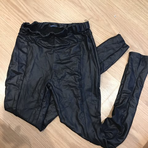 82b215dad17ef @kieramgouldx. 5 months ago. Edgware, United Kingdom. Boohoo Wet look  leggings. Worn once perfect condition. Size 8 ...
