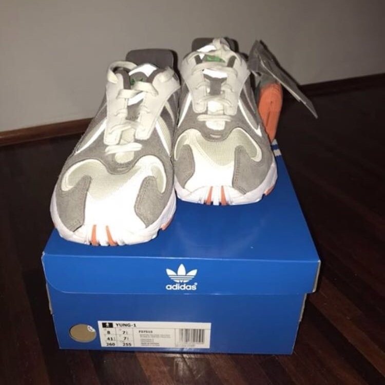 online store c2daf 6bfe2 Adidas yung 1 - solebox Cond 10/10 (new) Size UK... - Depop