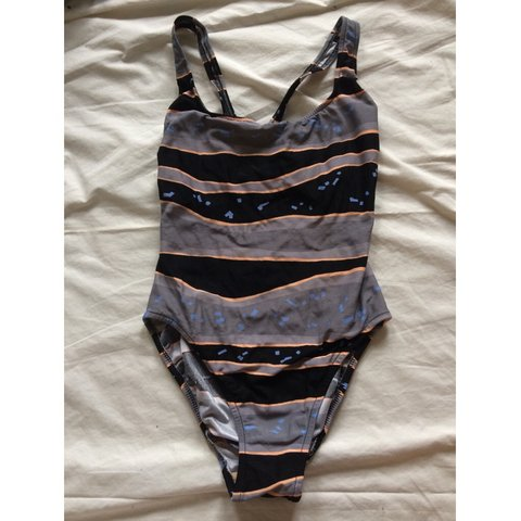 10bd89ad81c @lexi0129. 11 months ago. Wayne, United States. 〰 vintage striped one-piece  bathing suit ...