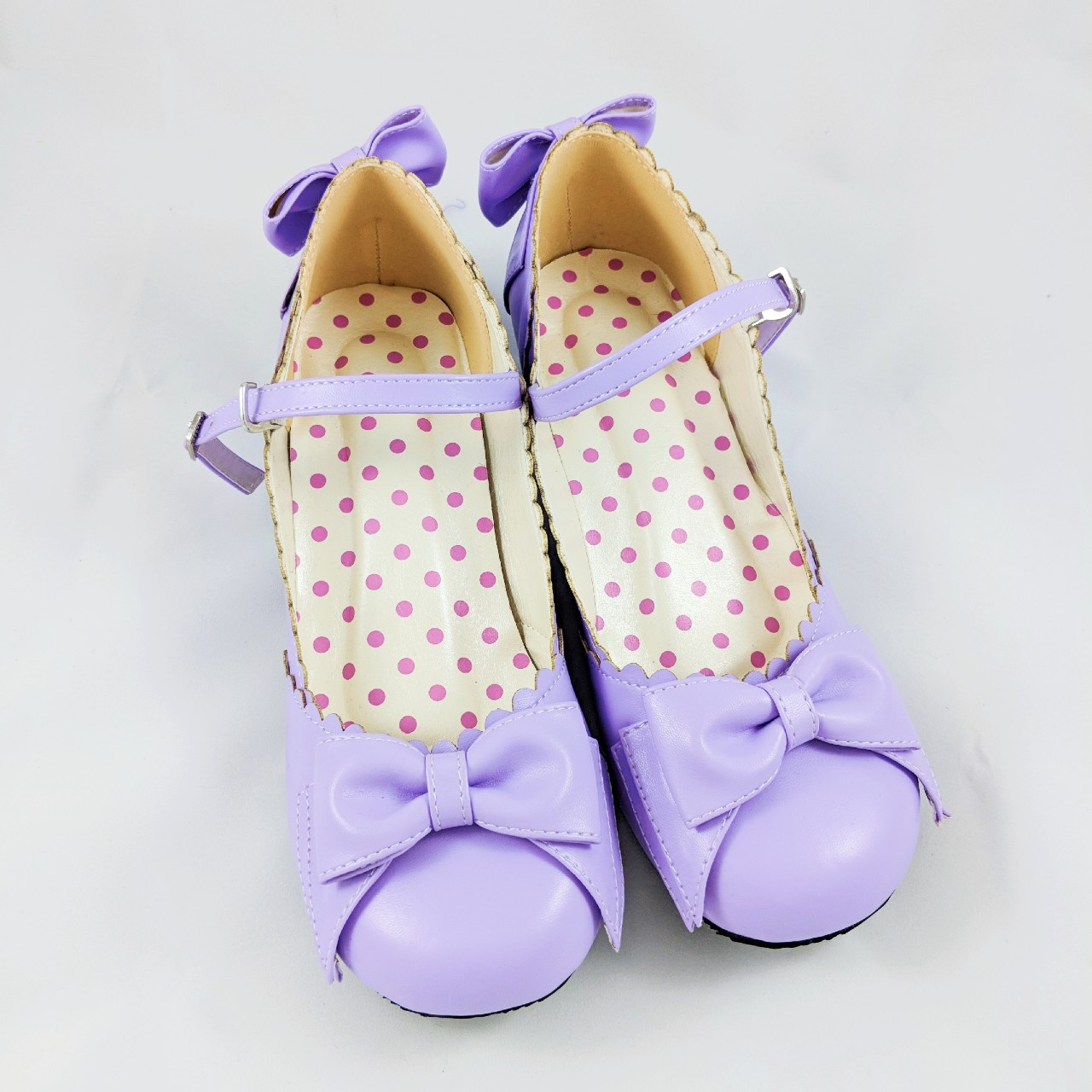 eef54ace1f8e0 Pastel Purple Lolita Shoes Brand new and never... - Depop