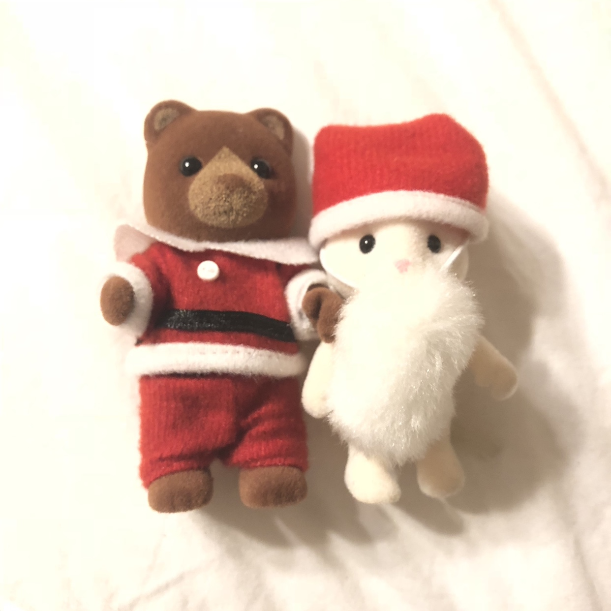 Rare Christmas Calico Critters  Sold together     - Depop