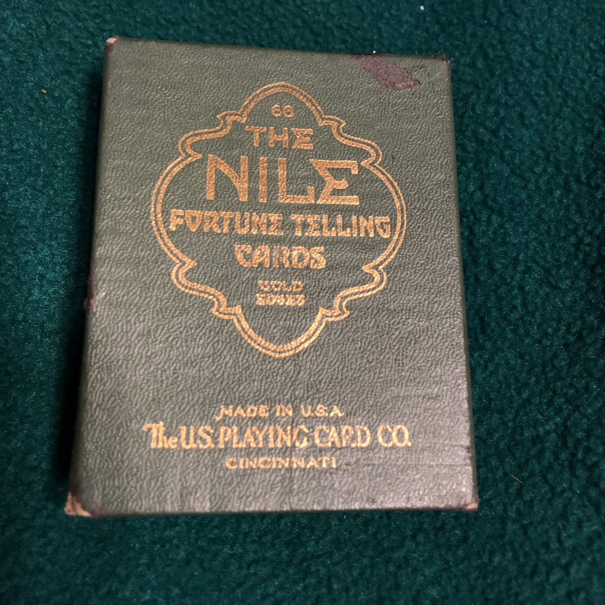The Nile Fortune Telling Cards  Made in The U S     - Depop