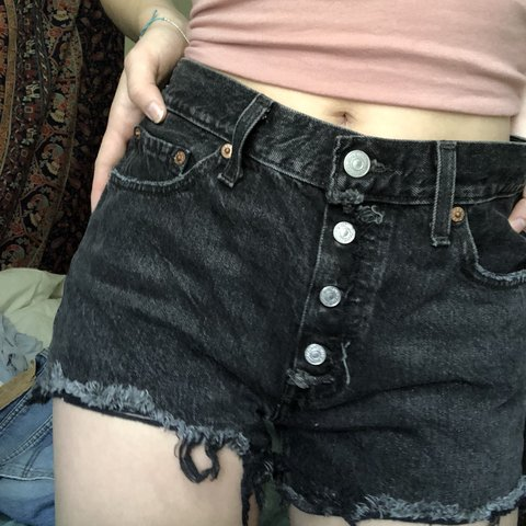 914f88df40 @caleighhk. 9 months ago. Yosemite National Park, United States. Urban  Outfitters levi's renewal cutoff denim shorts. i bought these ...