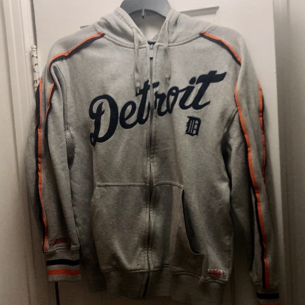 official photos 42757 2927f Detroit Tigers zip up hoodie. Made by Stitches... - Depop