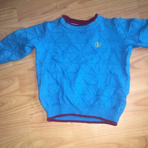 bacd7b33d760 TED BAKER BABY BOY JUMPER SIZE IS 12-18 MONTHS BEEN WORN IN - Depop