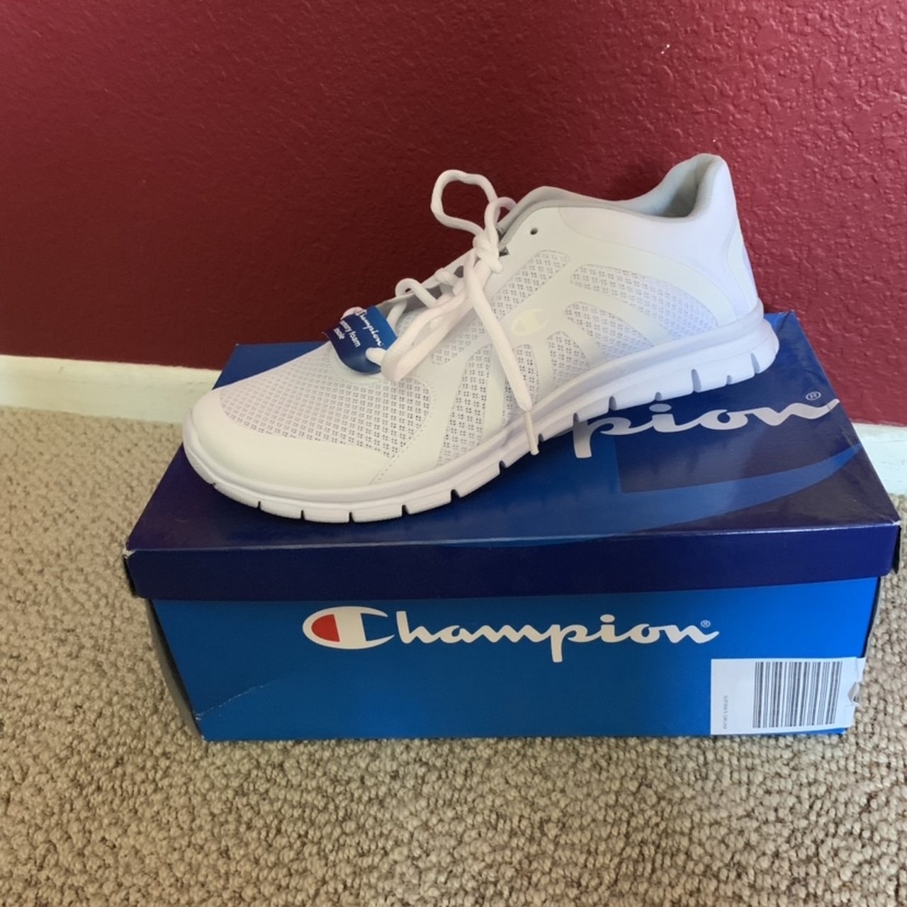 40b3453a901150 Champion sneakers  athletic running shoes w  memory foam for - Depop