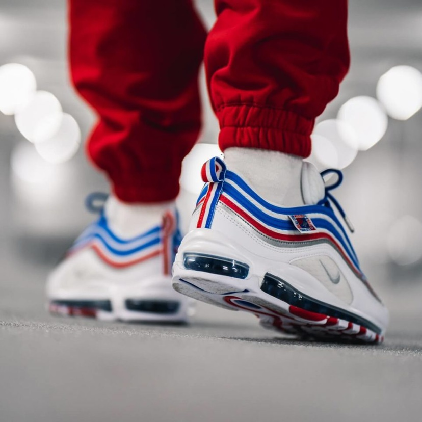 nike air max 97 'game royal' 'France' Royal 'red' Depop