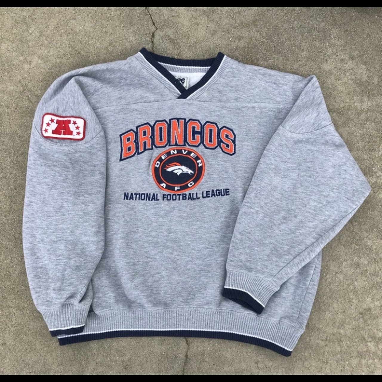 4740b3a4 Vintage lee sports Denver Broncos