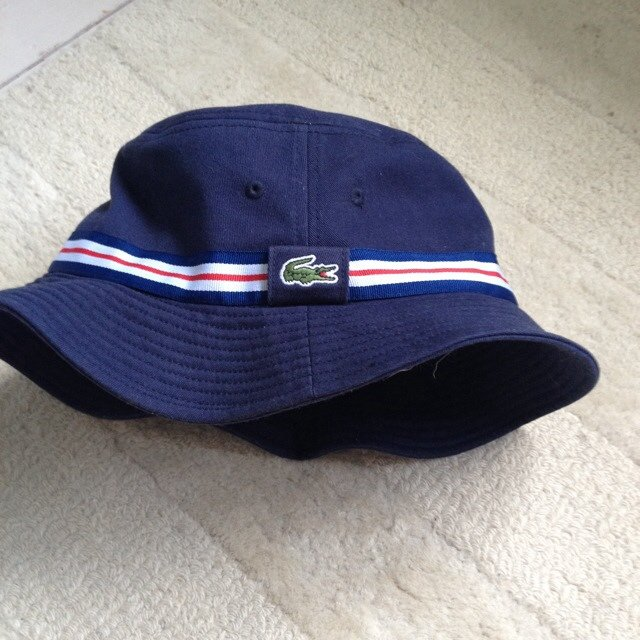 efa4a5151eb Brand new RARE lacoste bucket hat. Never worn - condition   - Depop