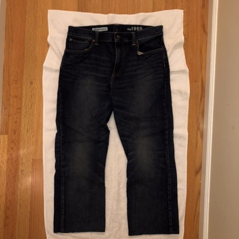7980df05 @rgiggs910. 6 months ago. Harrison, United States. GAP Standard Men's Jeans  34 Waist. Bought as 34 Length but ...