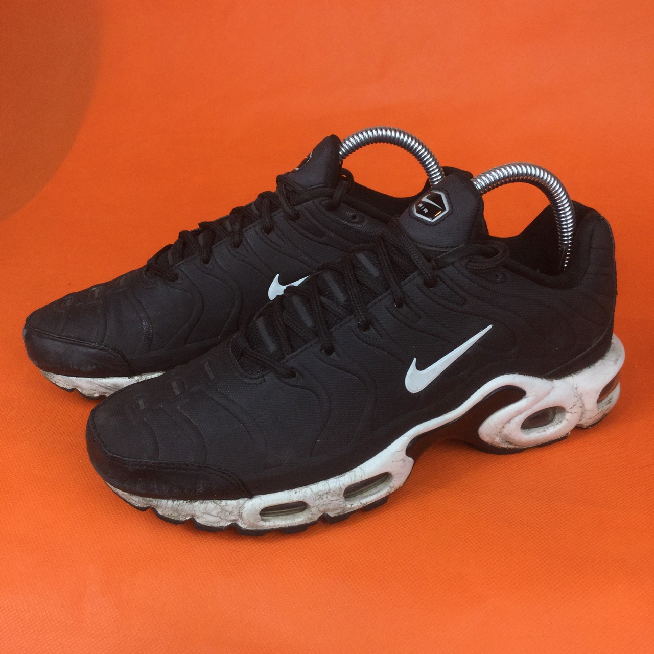 cozy fresh authorized site lowest price Nike Air Max Plus VT Tuned Tn Black And White ⚫️⚪️ UK ...