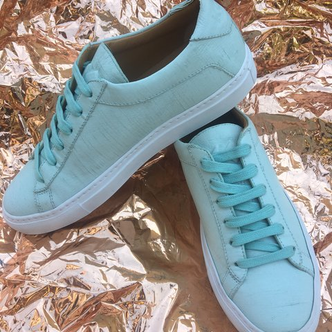 88ef1c1eceac Brand new KOIO Handcrafted Italian leather sneakers Size  - Depop