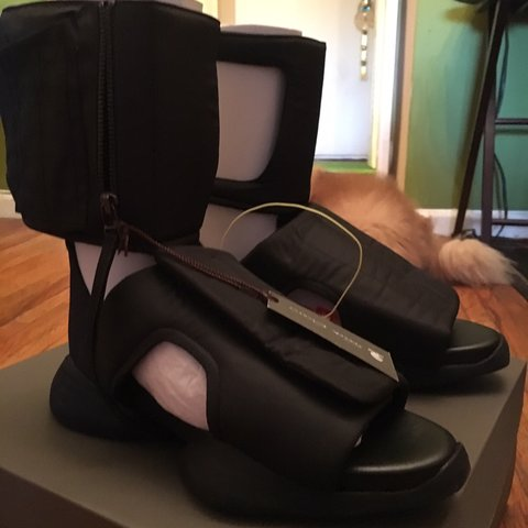 2b01adabffb1 Rick Owens cargo sandals Size 8 9 10 condition just used as - Depop
