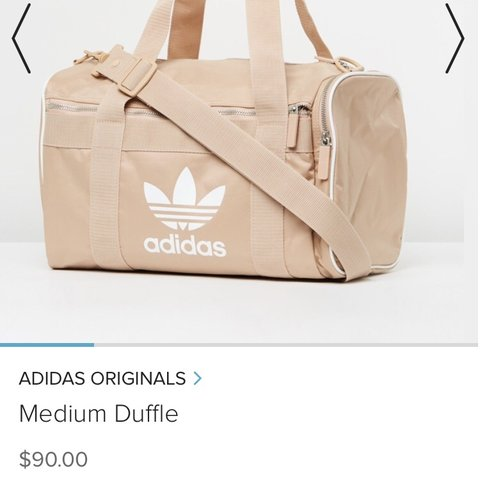 3713cc0c88 ADIDAS ORIGINALS ⚡ Ash Pearl Duffel Bag RRP   90 🔥 Does - Depop