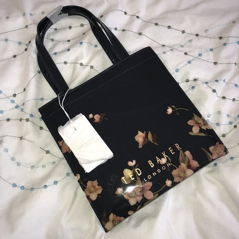 5c0fb1af4c1f Brand NEW genuine small Ted Baker bag in the colour navy on. - Depop
