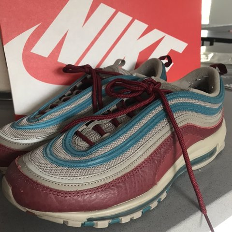 the latest d328d c32cf  tyrasher. last month. Orem, United States. Nike air max 97 SE light taupe team  red