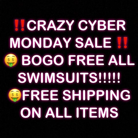 639db0846f4f2  CRAZY CYBER MONDAY DEALS ‼ ‼️FREE SHIPPING ON ALL ITEMS - Depop
