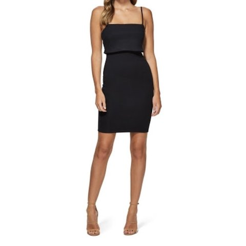 a4fa3ee978 Kookai  Delaware  bodycon dress in black Little black dress