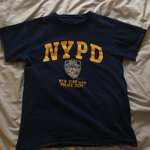 a61101b91 @mroxyw. 4 months ago. Stockport, United Kingdom. NYPD T-Shirt - Officially  Licensed ...