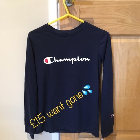 30965559 @lewislee22. 7 months ago. Crowthorne, United Kingdom. Champion long sleeve  t-shirt😍 Never worn brand new with ...