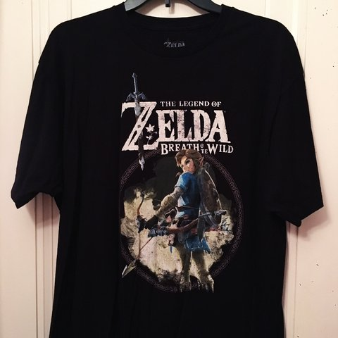 "90937ef2e FREE SHIPPING* The Legend of Zelda ""Link"" Graphic Tee • XL - Depop"