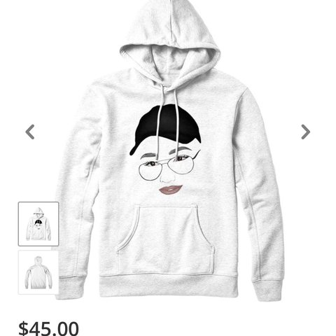 Im Looking For The James Charles Flashback Mary Hoodie Make Depop