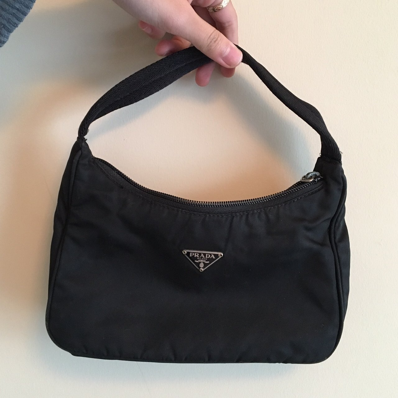 b3c8e76ad97164 ... Pack Waist Pouch 231475 Black Nylon Cross Body Bag Source · PRADA  Tessuto Sport Luxury Bags & Wallets on Carousell Share This Listing Source  · Prada ...